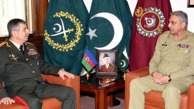 Zakir Həsənov və Qamar Caved Bacva