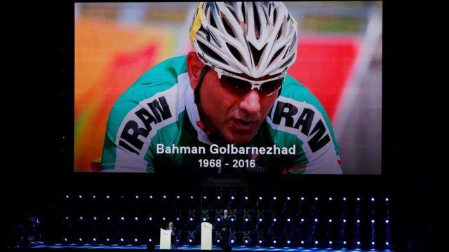 En la ceremonia de clausura de los Paralímpicos de Río hubo un minuto de silencio en honor a Golbarnezhad.