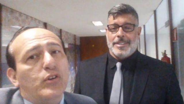 Edilásio Barra Jr. e Alexandre Frota