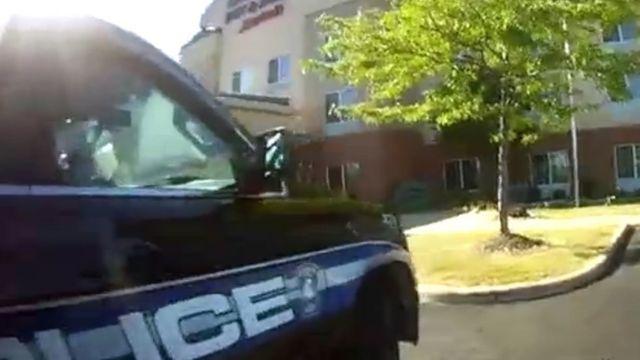 صورة سيارة شرطة أمريكية