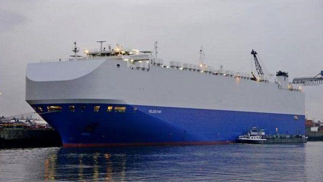 هلیوس ری کشتی تجاری حمل خودرو است