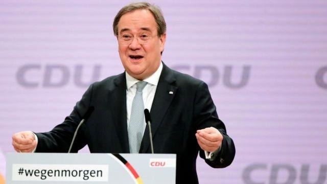 Nemačka, politika i Angela Merkel: Armin Lašet izabran za vođu CDU