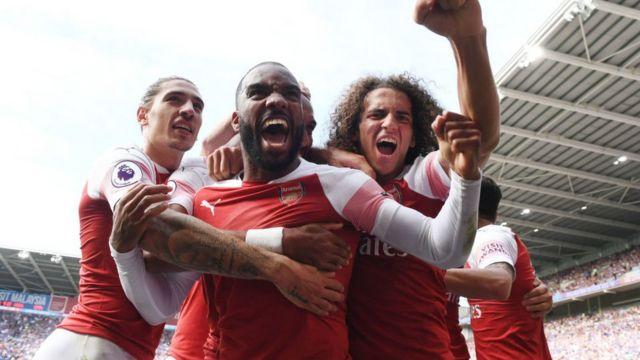Jugadores de Arsenal