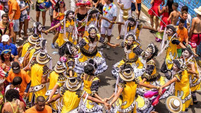Desfile do Galo da Madrugada no ano passado