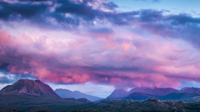 Torridon, en el noroeste de las Tierras Altas de Escocia, el paisaje más antiguo de Gran Bretaña.