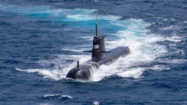 Австралийская подводная лодка