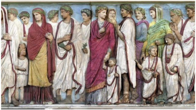 Picture of ancient Romans