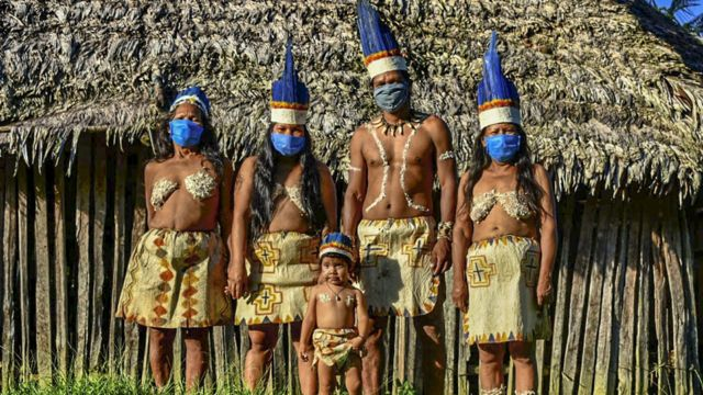 Indigenas en Colombia