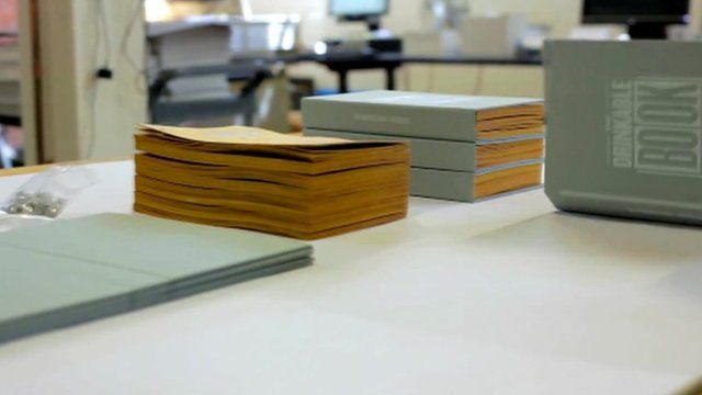 The book which can be used to filter water