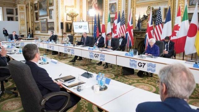 Maliye bakanları G7 toplantısında