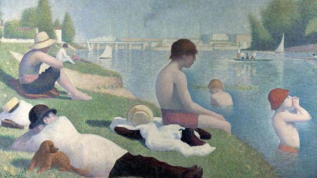 Baigneurs à Asnières (1884)