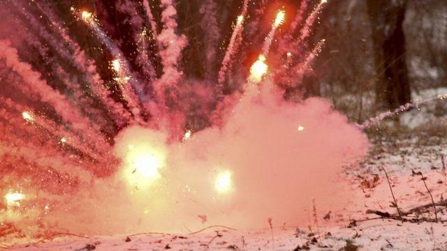 На период военного положения в Херсонской области запретили фейерверки