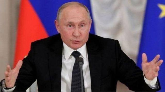 Shugaban kasar Rasha Vladmir Putin