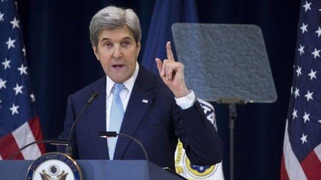 "John Kerry yavuze ko Israel ata mugenzi mukuru ifise nka Amerika, yongera ati: ""Abagenzi babwirizwa kuvugana n'ukuri gukomeye"""