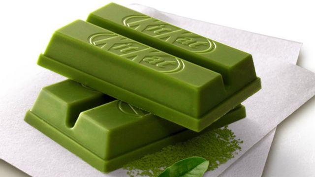 Kit Kat verde