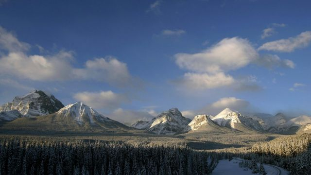 The Canadian Rockies in the Banff National Forest 30 November, 2006