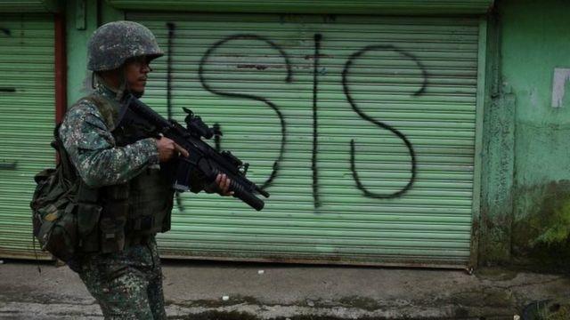 Marawi sokakları isyanın başından beri ıssız