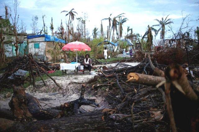 हैती तबाही का मंज़र