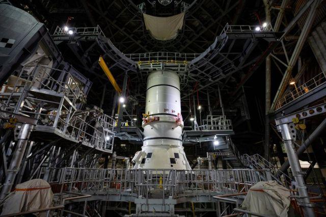 Установка ракетных компонентов
