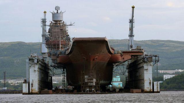ПД-50 - один из крупнейших плавучих доков в мире