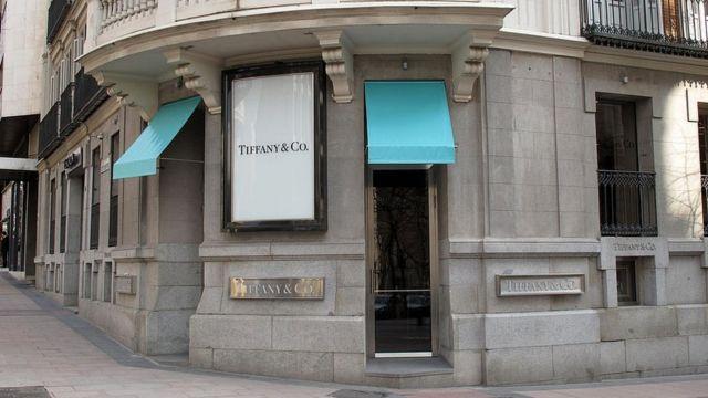 Tienda de Tiffany, en el barrio de Salamanca.