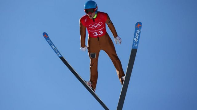 Representante ruso en salto de esquí