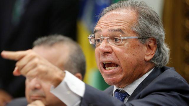 Paulo Guedes, ministro da Economia do governo Jair Bolsonaro
