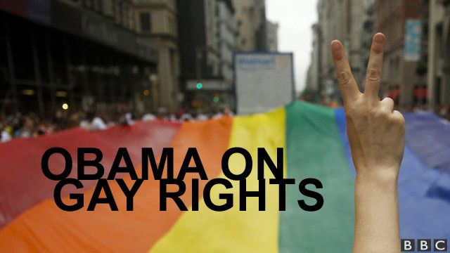 Obama on gay rights