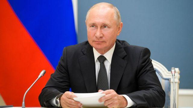 The President of Russia, Vladimir Putin.
