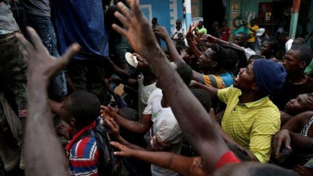 'Yan kasar ta Haiti sun kai wa masu bayar da agaji hari