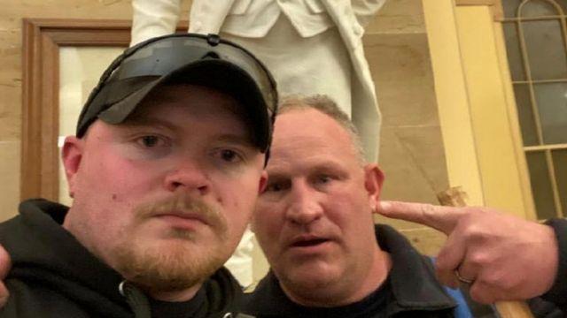 Dos de los asaltantes del Capitolio