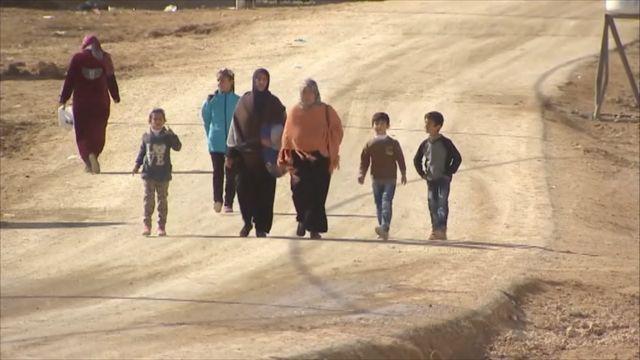 Fògarraich ann an Siria