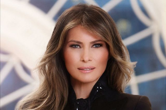 اولین عکس رسمی خانم ترامپ به عنوان بانوی اول آمریکا در ماه آوریل منتشر شد