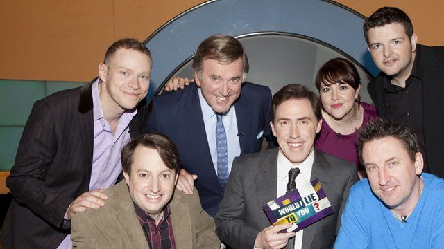 The cast of Would I Lie to You
