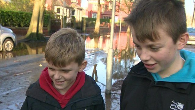 Kids tell us how floods have affected them