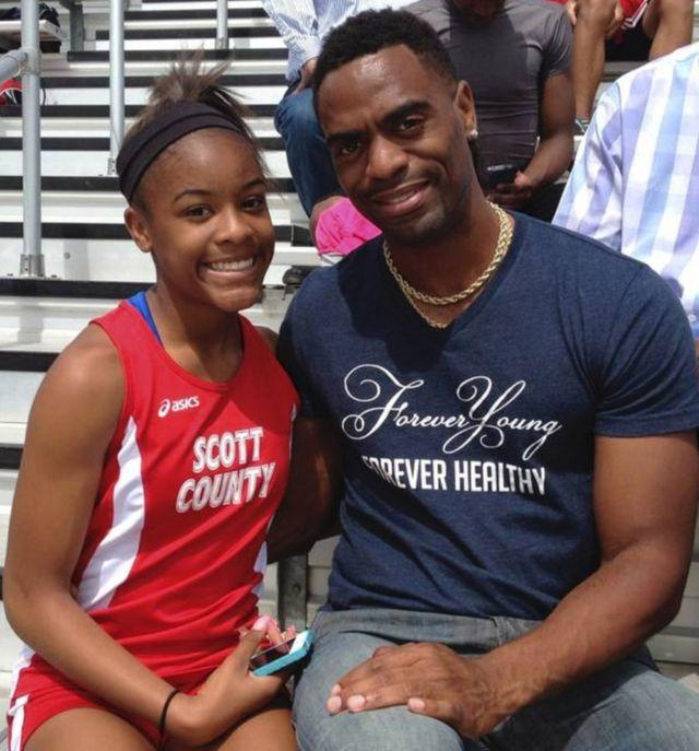 Tyson Gay daughter death: Three plead not guilty