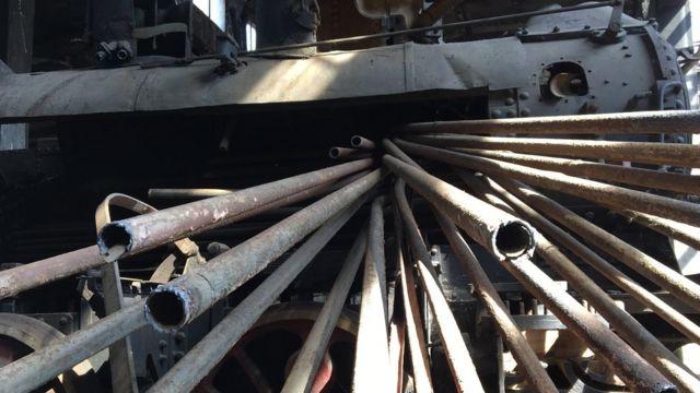 Lokomotiva i cevi