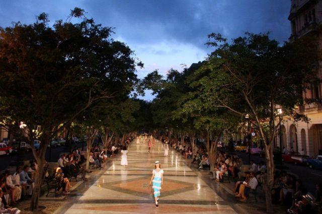 نمایش مد در کوبا