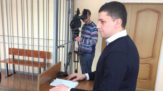 Максим Мищенко в суде