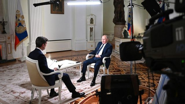 Интервью Путина Эн-би-си