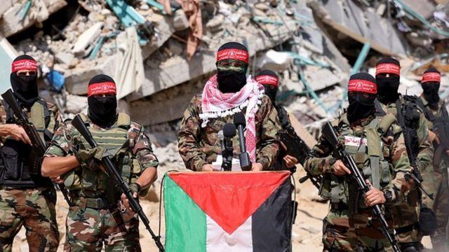Бойцы палестинских Комитетов народного сопротивления