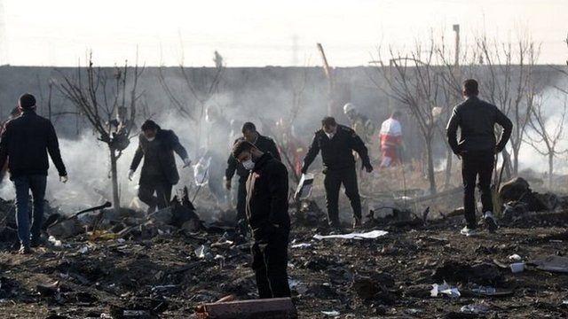 تمامی سرنشینان هواپیما جان خود را از دست دادند