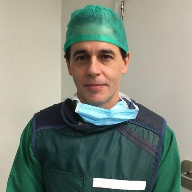 """O médico André Fernandes diz em em 22 anos trabalhando na área nunca viu situação """"tão grave"""""""
