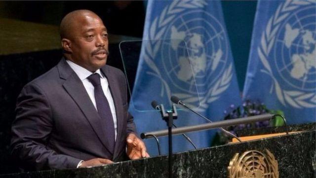 Prezida wa RDC Joseph Kabila ari ku butegetsi kuva mu 2001