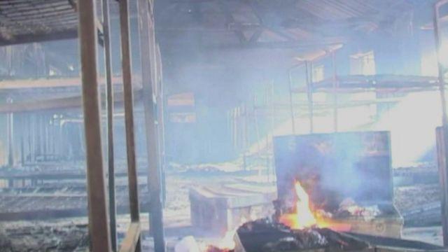 Kenya school fire