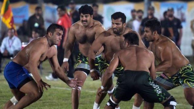भारत-पाकिस्तान के बीच कबड्डी मैच की फाइल फोटो