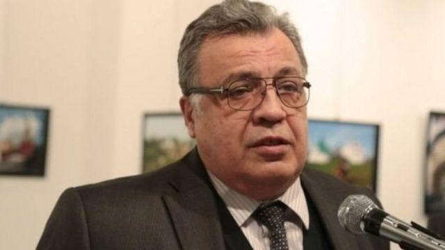 तुर्की में रूस के राजदूत एंड्रे कार्लोफ़