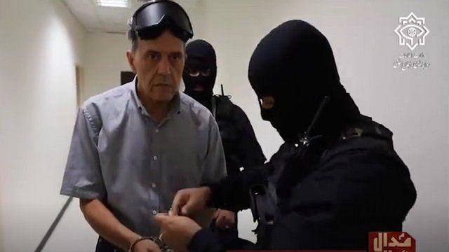 تصاویر از بازداشت جمشید شارمهد