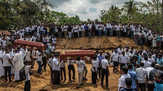 Sri Lanka Mass Funeral
