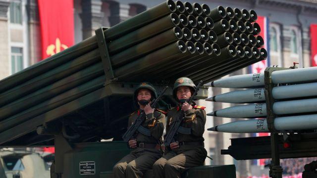 У суботу в Пхеньяні відбувся масштабний військовий парад